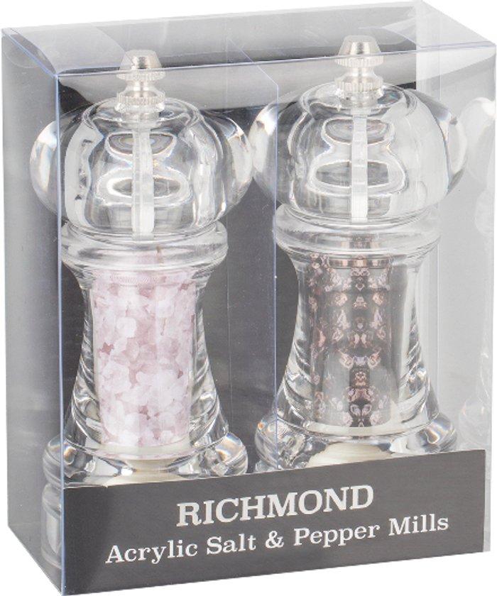 The Range Richmond Acrylic Salt And Pepper Mill