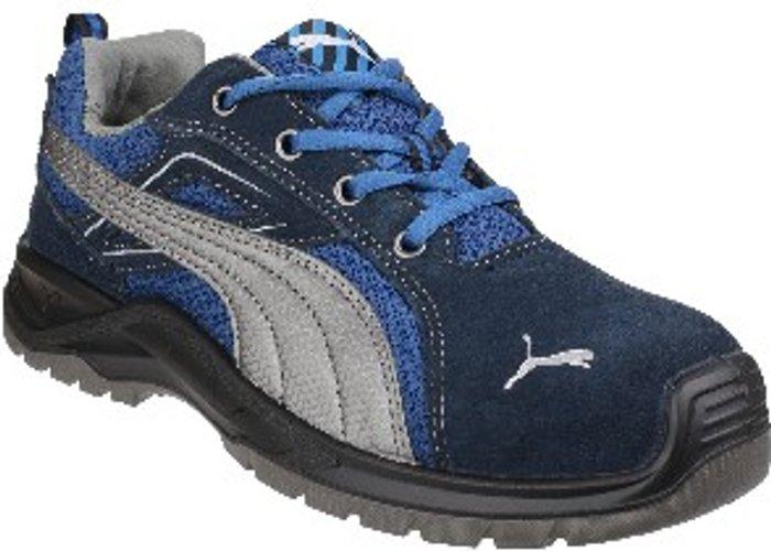 PUMA SAFETY Omni Sky Low Lace Up Safety Shoe8 - Blue / 9