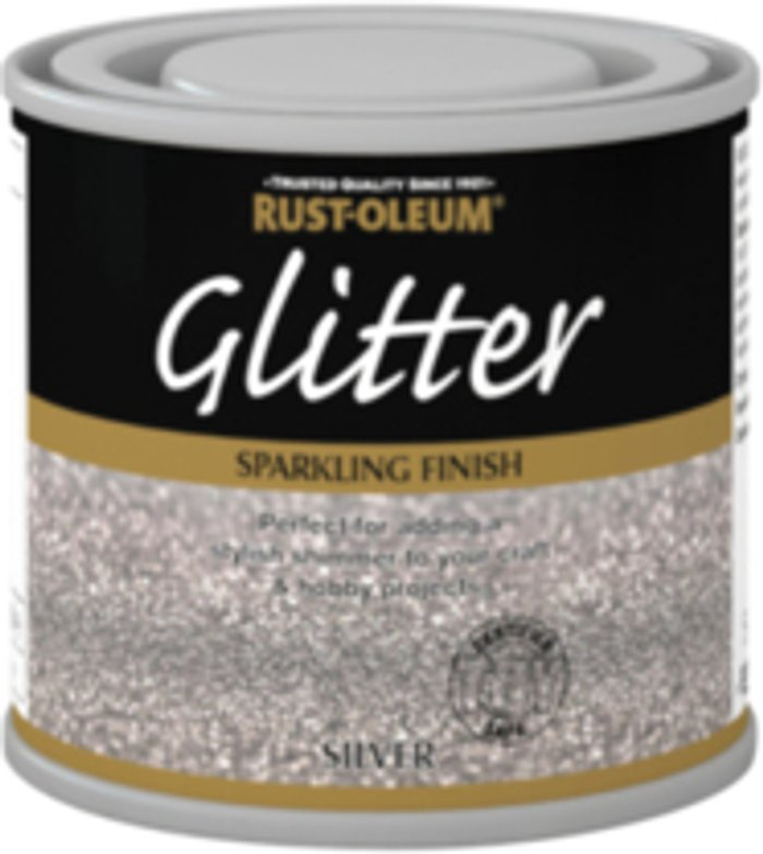Rust-Oleum Rust-Oleum Glitter Paint - Silver