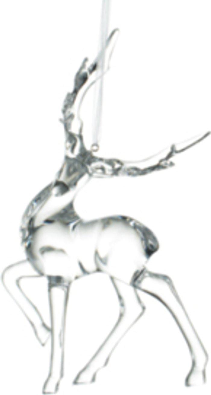 The Range Hanging Clear Deer Decoration