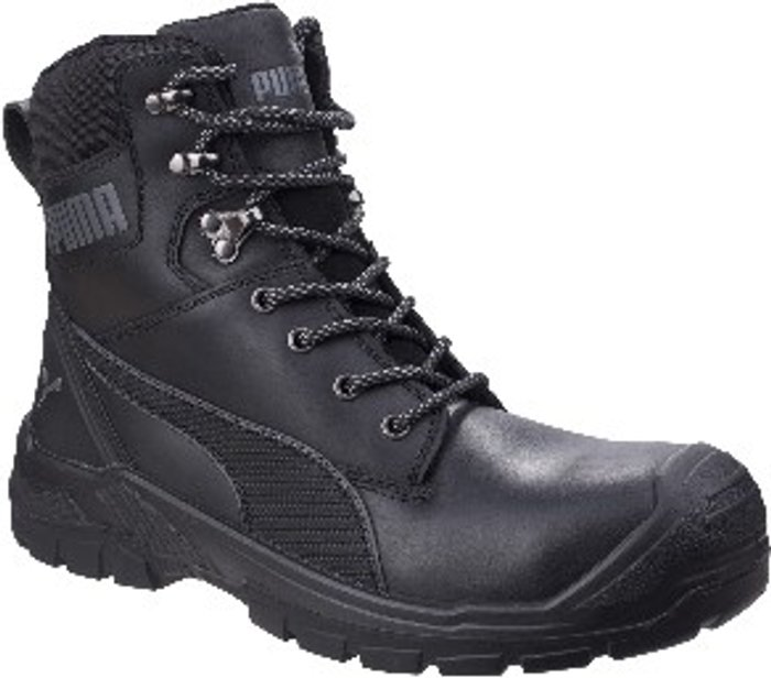 PUMA SAFETY Conquest 630730 High Safety Boots - Black / 11