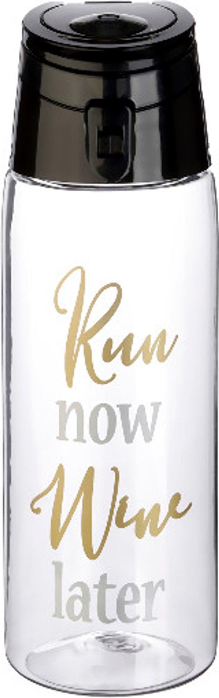 The Range Gym Run Flip Top Water Bottle
