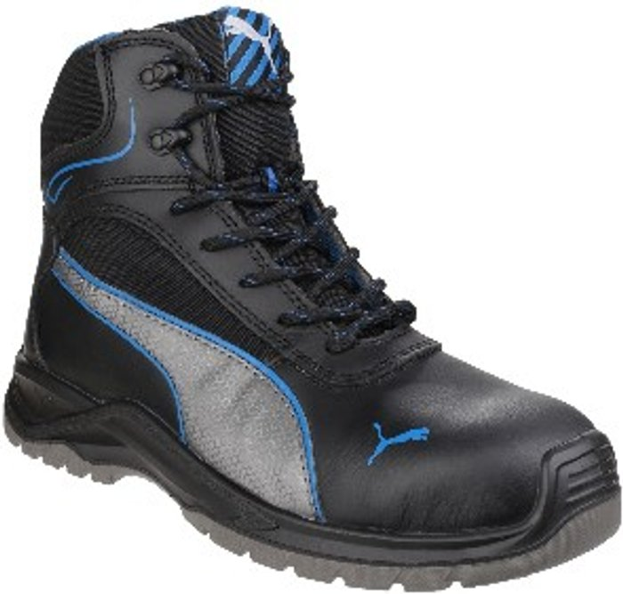 PUMA SAFETY Atomic Mid Water Resistant Safety Boots - Black / 12