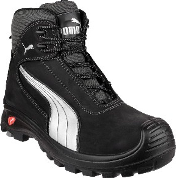 PUMA SAFETY Cascades Mid Lace-Up Safety Boots - Black / 6
