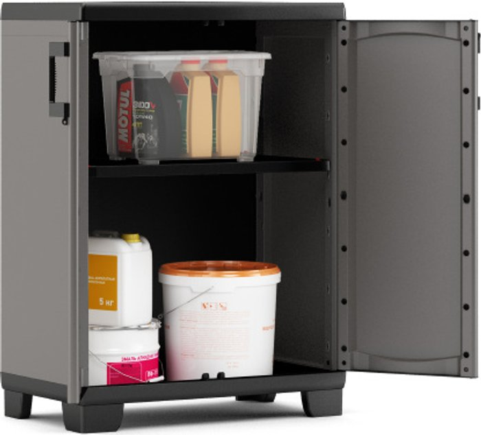 The Range Up Low Cabinet - Grey