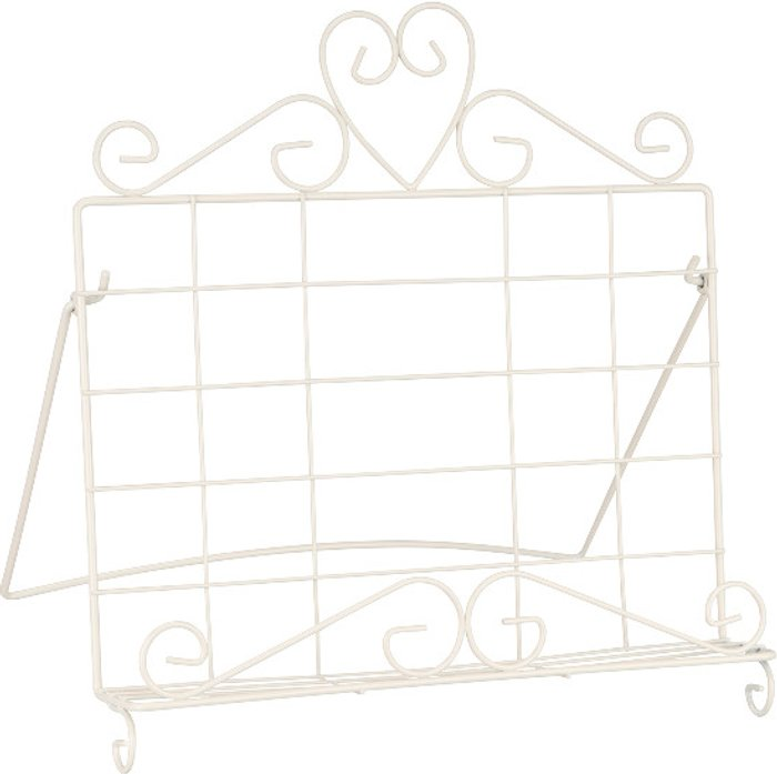 The Range Heart Wire Cook Book Stand