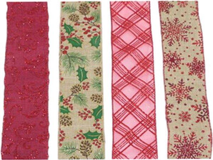 The Range Premium Traditional Christmas Ribbon
