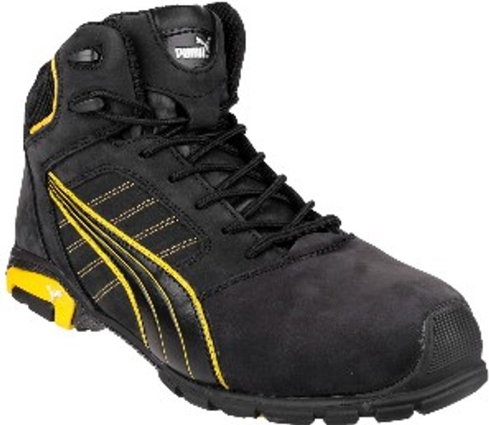 PUMA SAFETY Amsterdam Mid Safety Boots - Black / 11