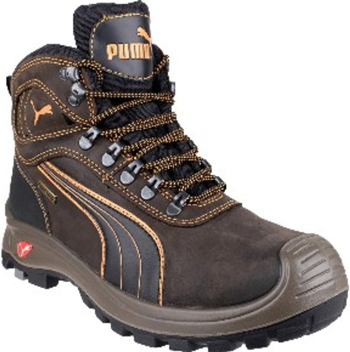 PUMA SAFETY Puma Safety Sierra Nevada Mid Lace Up Boot - Brown / 7