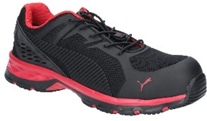 PUMA SAFETY Fuse Motion 2.0 Lace Up Safety Shoes - Red/Black / 12