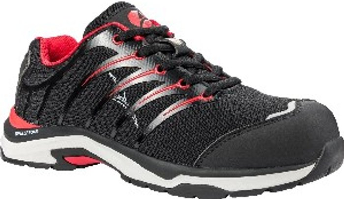 ALBATROS Albatros Twist Low Lace Up Safety Shoe - Black/Red / 8