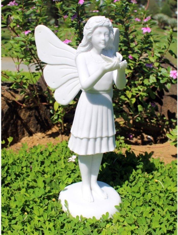 Enigma Fairy of the Birds - White