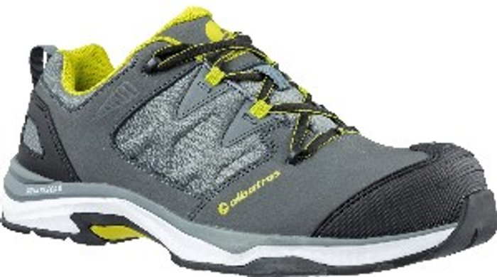 ALBATROS Albatros Ultratrail Low Lace Up Safety Shoe - Grey/Combined / 11