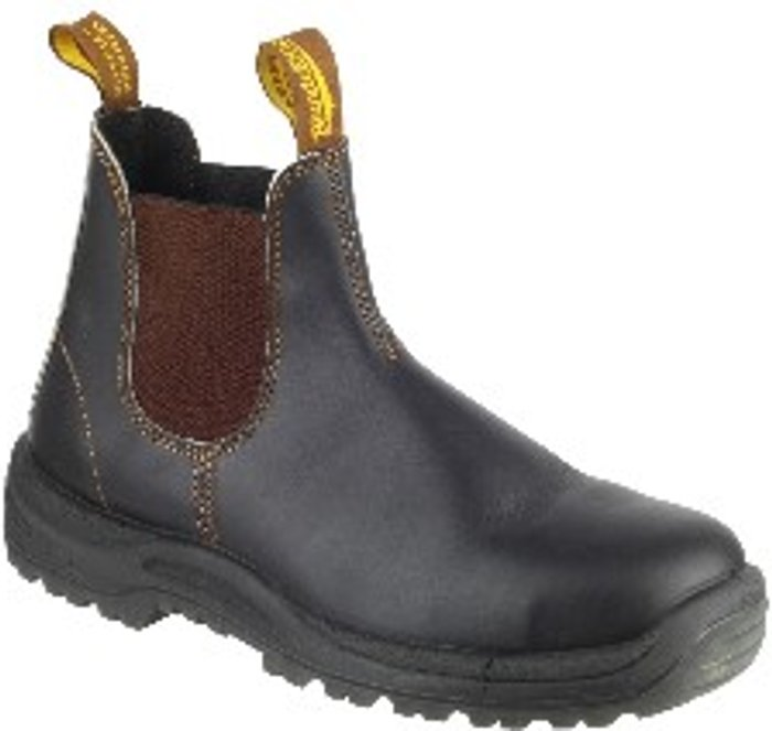 Blundstone Blundstone 192 Industrial Slip On Safety Boot - Stout Brown / 12