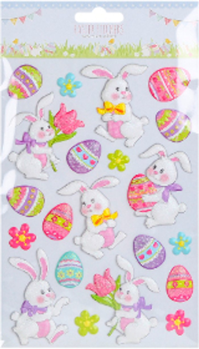 The Range 3D Easter Stickers