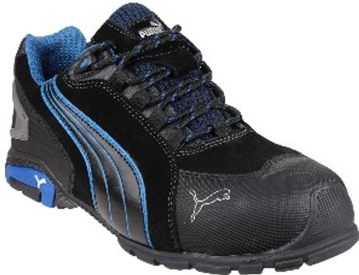 PUMA SAFETY Puma Safety Rio Low Lace-Up Safety Boot - Black / 9