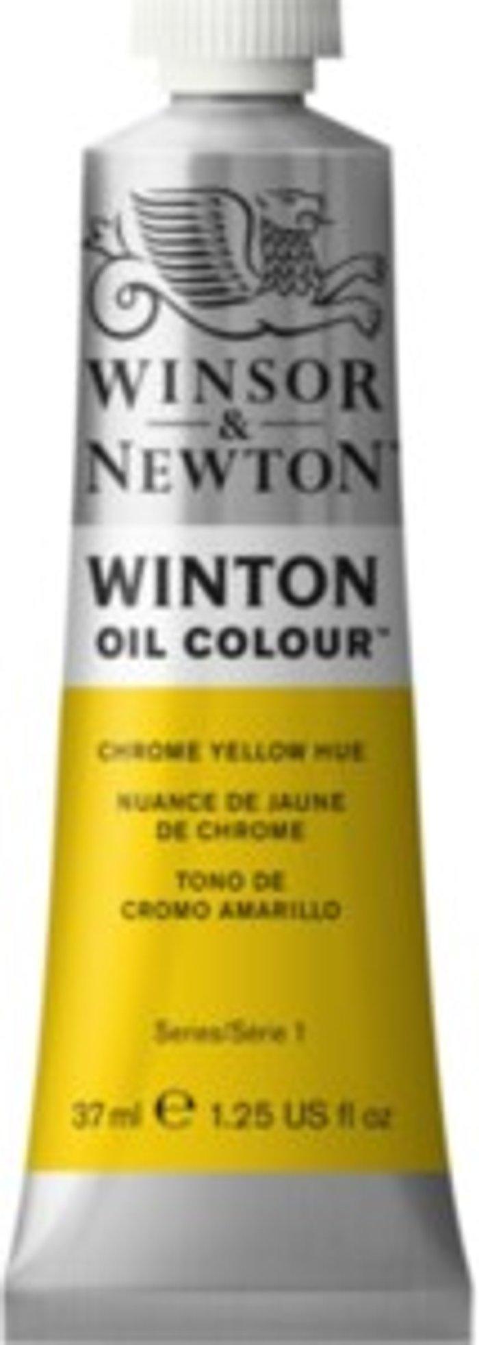 Winsor & Newton Winton Oil Colours - Chrome Yellow Hue - Chrome Yellow