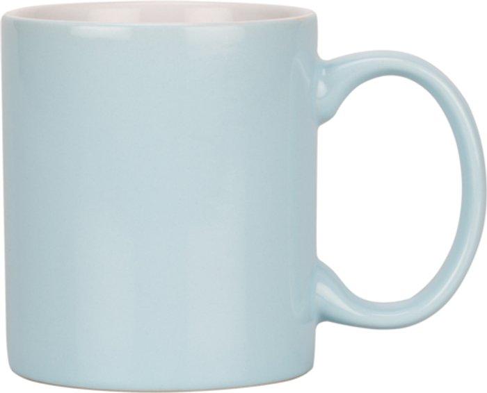 Create by Just Mugs Stoneware Mug - Pastel Blue