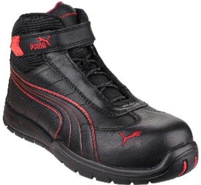PUMA SAFETY Daytona Mid Sneaker - Black / 6