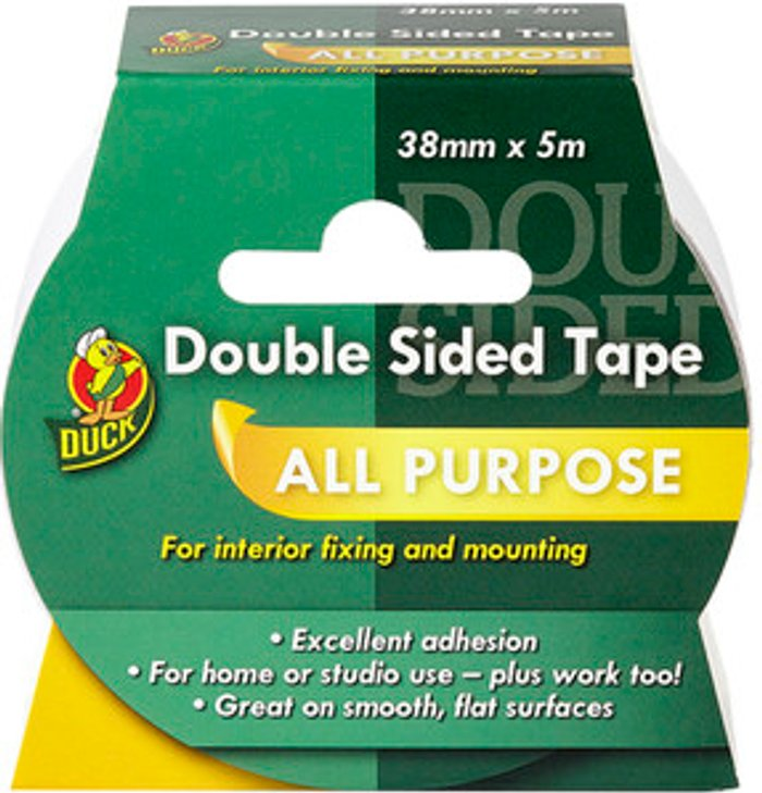 Duck Tape Duck Double-Sided Interior Use Tape