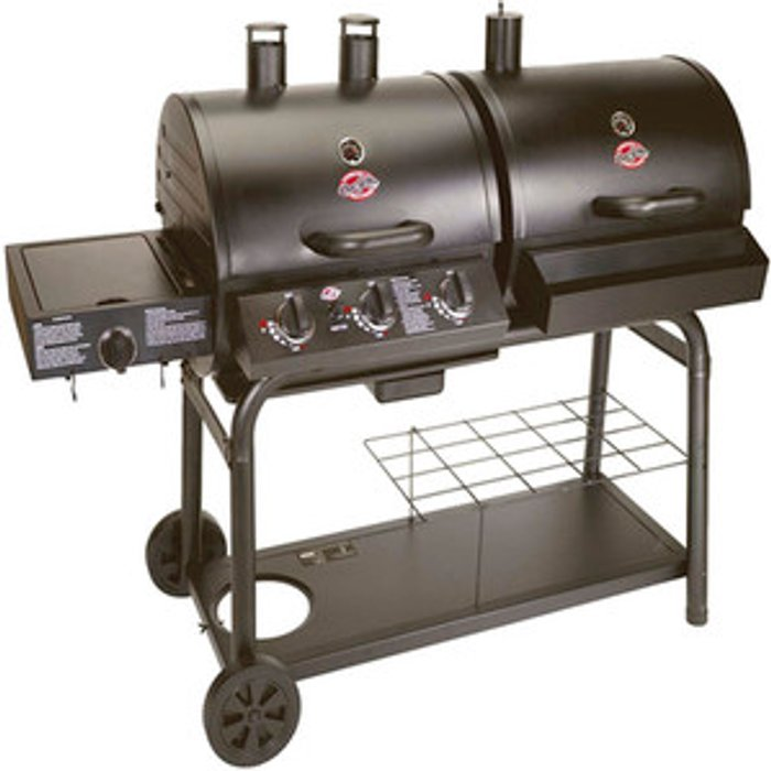 Char-Griller Char-Griller Duo Gas And Charcoal BBQ