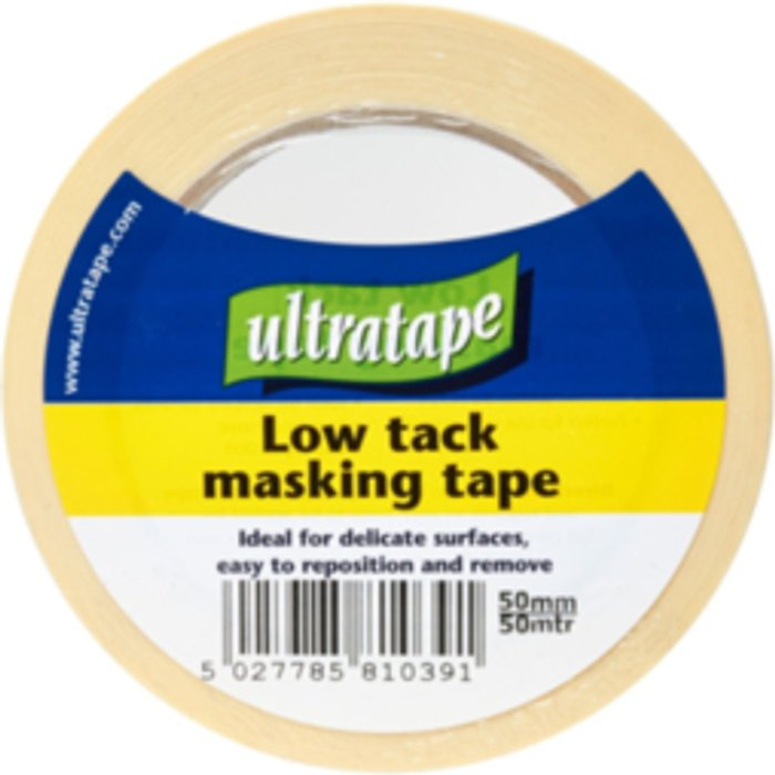 Ultratape Ultratape Low Tack Masking Tape - 50mm