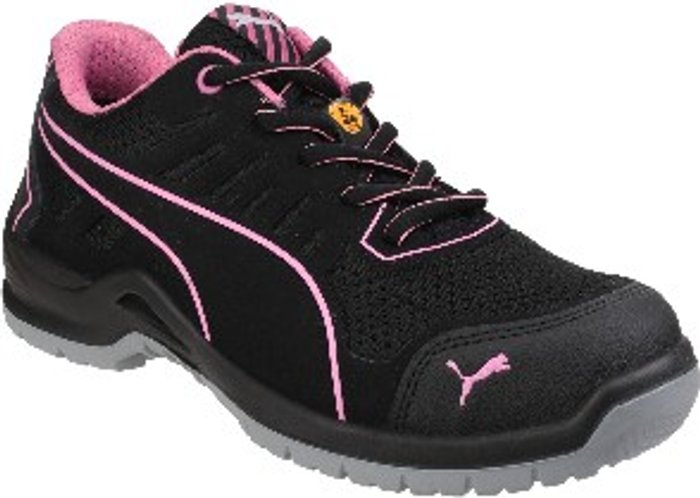 PUMA SAFETY Fuse Tech Ladies Safety Trainers - Black / 7