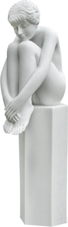 Enigma Sophia On Column - White