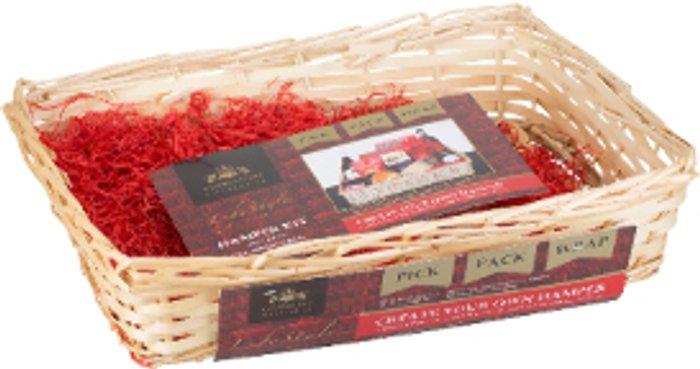 Kensington Giftware Company Kensington Giftware Company Wooden Weave Hamper Kit
