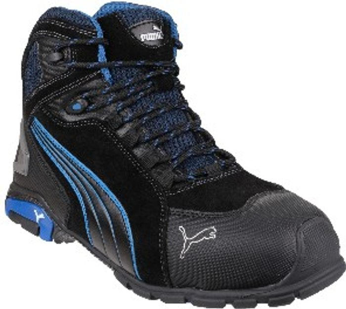 PUMA SAFETY Puma Safety Rio Mid Lace-Up Safety Boot - Black / 12