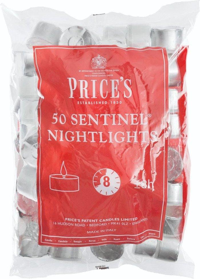 Price's Candles Price's Candles Price's Sentinel Nightlights - Pack of 50