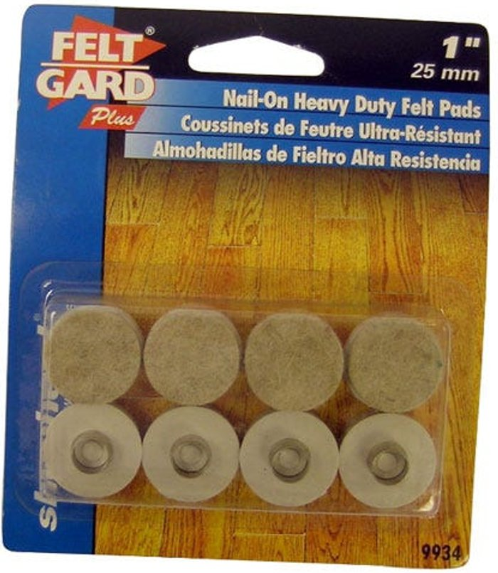 Select Hardware Select Hardware Nail-in Felt Pads  25mm (1