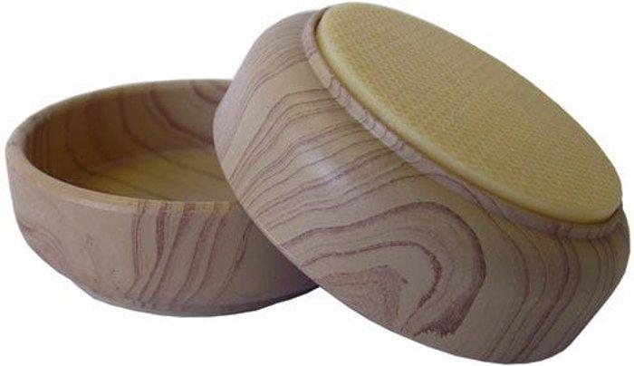 Select Hardware Select Hardware Feltgard Castor Cups Light Wood Grain 60mm  (4 Pack)
