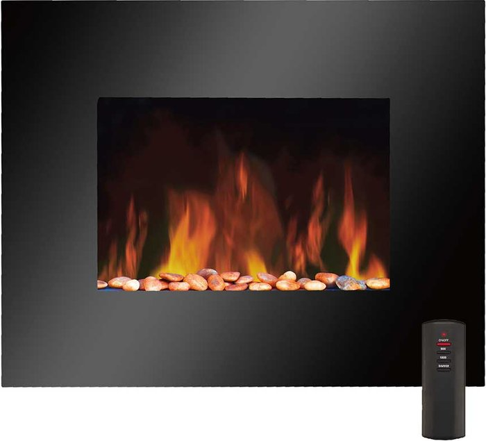 Connect-It Connect-It 1800W Wall-Mounted Flame-Effect Heater