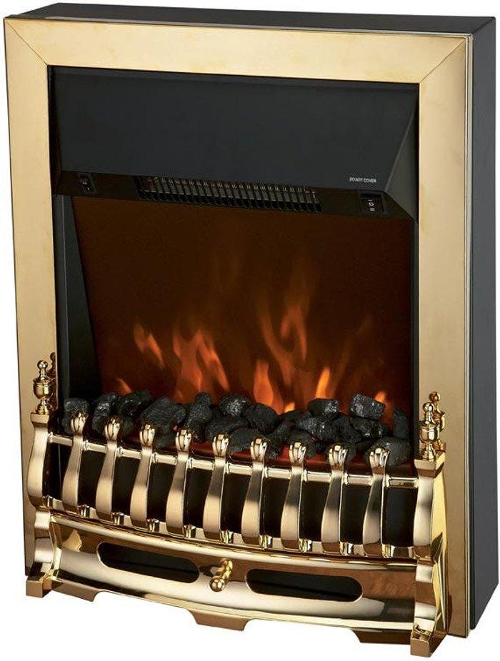 Connect-It Connect-It 2000W Fire-Effect Fan Heater