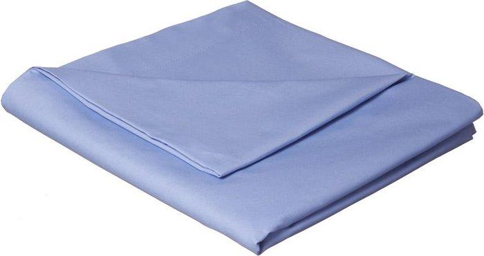Catherine Lansfield Catherine Lansfield Cornflower Blue Non-Iron Plain Dye Flat Sheet