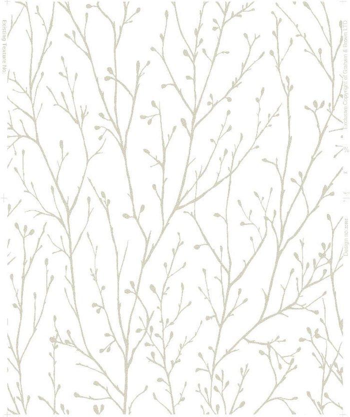 Graham & Brown Graham & Brown Super Fresco Willamena Wallpaper - Gold
