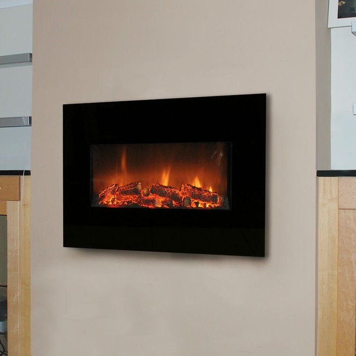 Limitless Limitless Flat TV Fire Heater with Remote Control