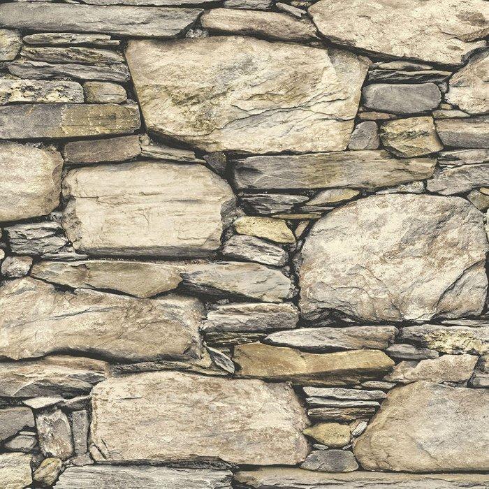 Fine Decor Fine Decor Fine Décor Stone Wall Peel and Stick Wallpaper