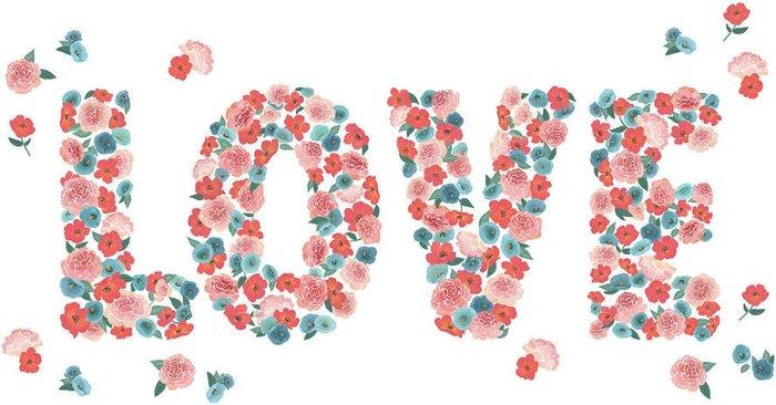 Fine Decor Fine Decor Wall Pops 'Love' Wall Sticker