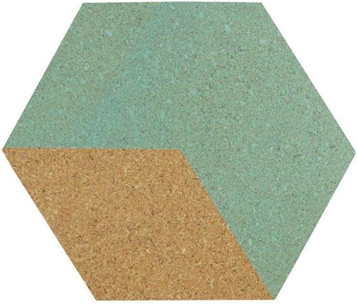 Fine Decor Fine Decor Wall Pops 'Blue & Green' Cork Organiser Wall Stickers