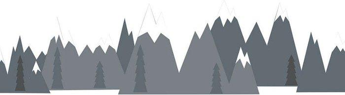 Fine Decor Fine Decor Wall Pops 'Mountain Range' Wall Art Kit