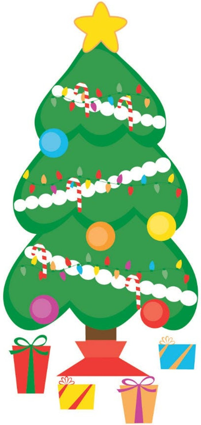 Fine Decor Fine Decor Wall Pops Christmas Tree Wall Sticker