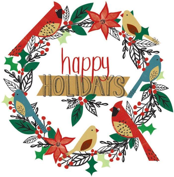 Wall Wall Pops Christmas Wreath Wall Sticker
