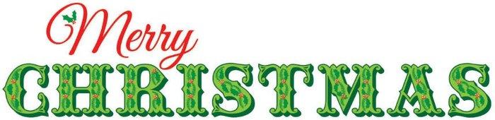 Fine Decor Fine Decor Wall Pops 'Merry Christmas' Wall Sticker