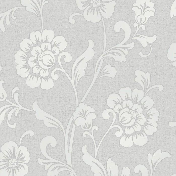Fine Decor Fine Decor Fine Décor Quartz Floral Wallpaper - Silver