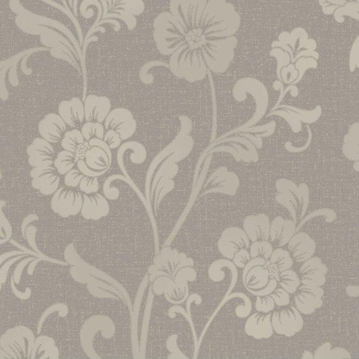 Fine Decor Fine Decor Fine Décor Quartz Floral Wallpaper - Pewter