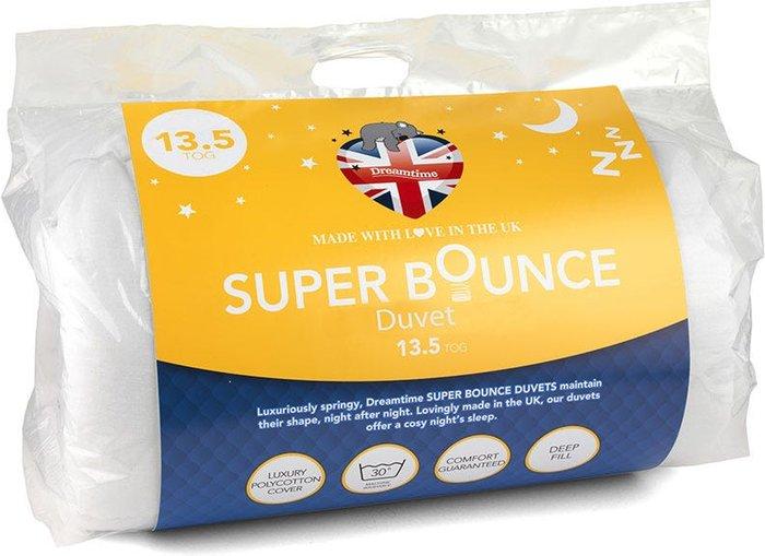 Dreamtime Dreamtime Super Bounce 13.5 Tog Double Duvet - White