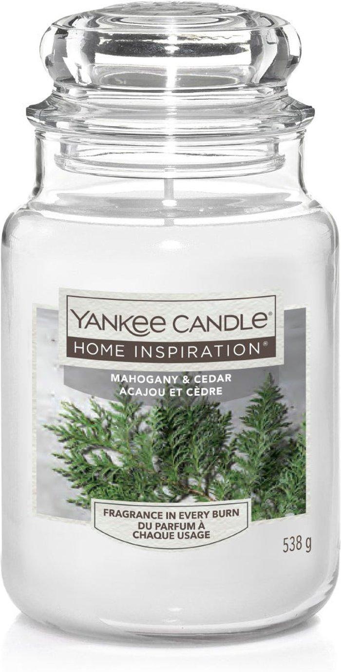 Yankee Yankee Candle Jar - Mahogany & Cedar