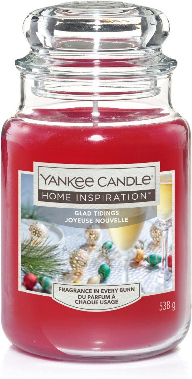 Yankee Yankee Candle Jar - Glad Tidings